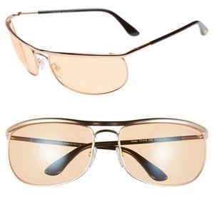 New TOM FORD Rose Gold Orange Sunglasses